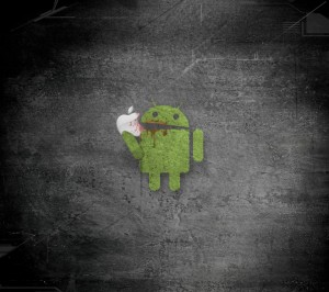 1_android_eating_apple