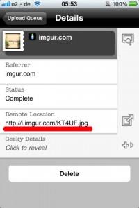 Cómo subir imágenes a Cabozo desde el Tabomobil con un iOS