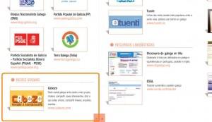 Cabozo é unha das webs que aparecen na guía