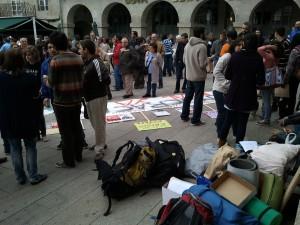 Indignados en Lugo