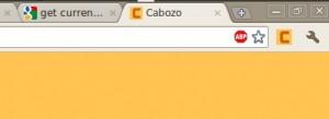 Extensión Cabozo para Google Chrome