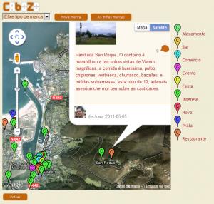"""""""Arredor"""", o novo servizo de xeolocalización de Cabozo"""