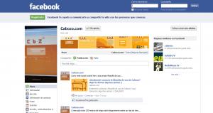 Esta es nuestra página en Facebook