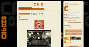 Contido audiovisual nun taboleiro
