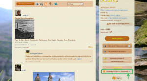 """Entra en """"Usuari@s de Cabozo/búsquedas"""" para enviar la invitación"""