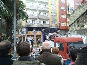 Incendio en Lugo (29/12/2011)