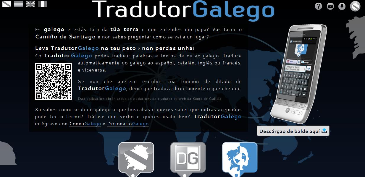 Cabozo blog � Aplicaci�n Android para traducir del o al gallego