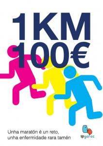 Maratón solidaria coas enfermidades raras: 1 KM, 100 euros