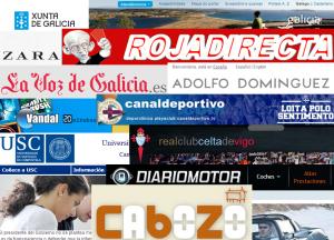 Cabozo entre as 75 web máis populares de Galicia